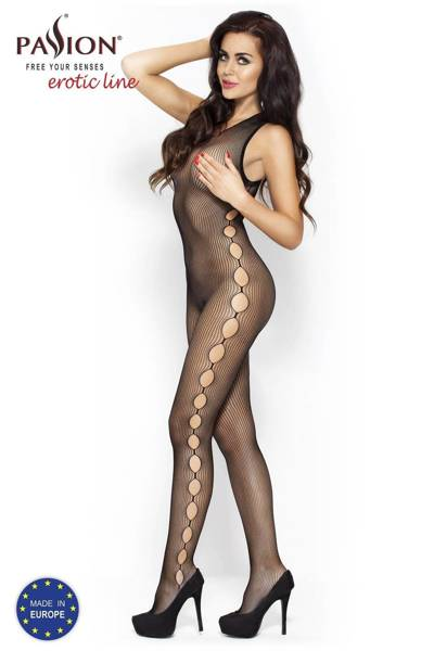 BS003 bodystocking czarne Passion Lingerie