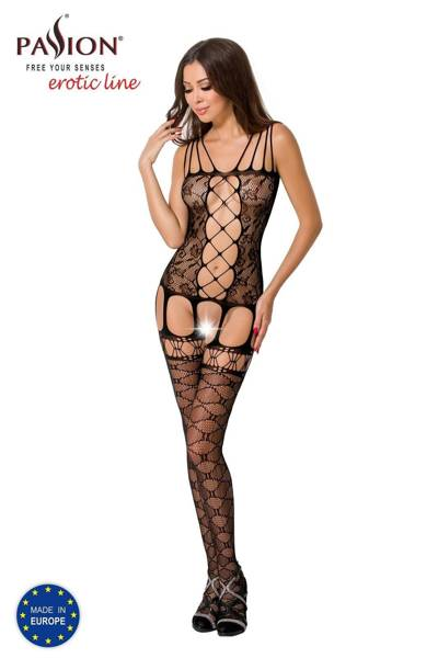 BS054 bodystocking czarne Passion Lingerie